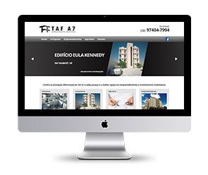 criação de site responsivo desktop